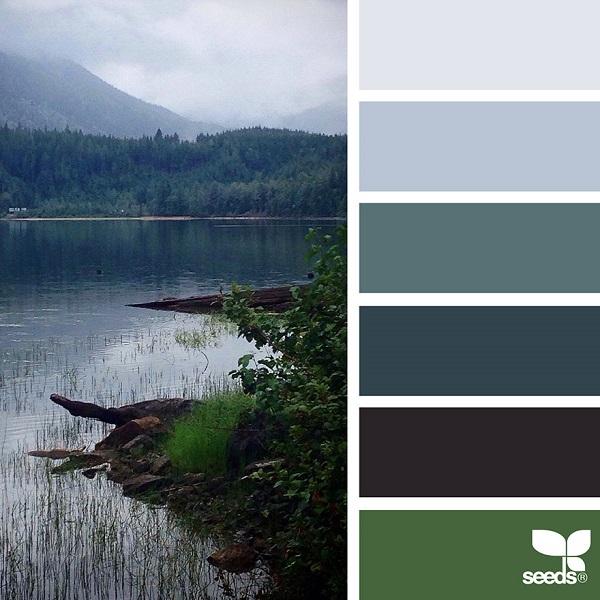 Design Seeds palety barev z přírody, barevná inspirace