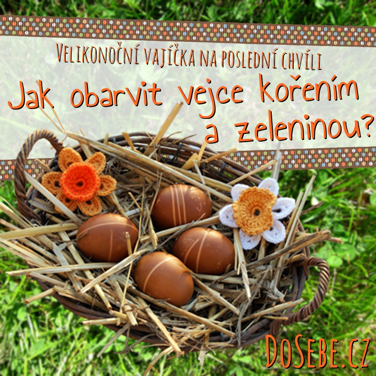 Velikonoční vajíčka na poslední chvíli: Jak obarvit vejce kořením a zeleninou?